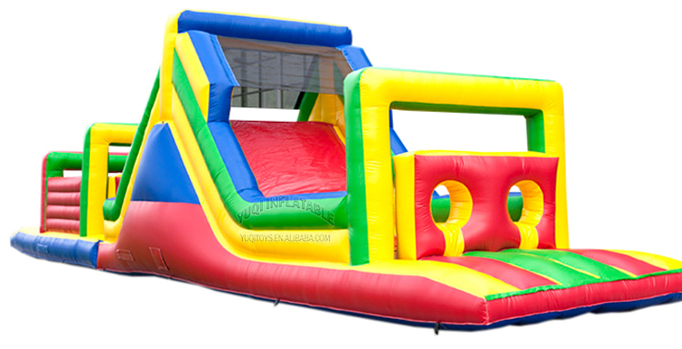 YUQI-Inflatable Air Track Manufacture | Inflatable Kids Arch Obstacle Course-1