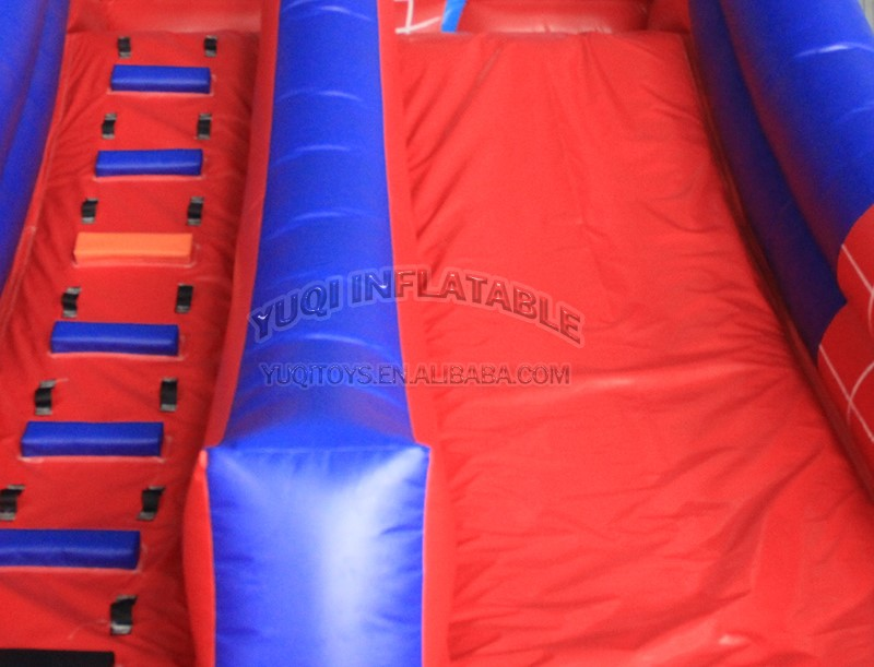 YUQI-Inflatable Water Obstacle Course Mesh Pvc Made Inflatable Jungle-6
