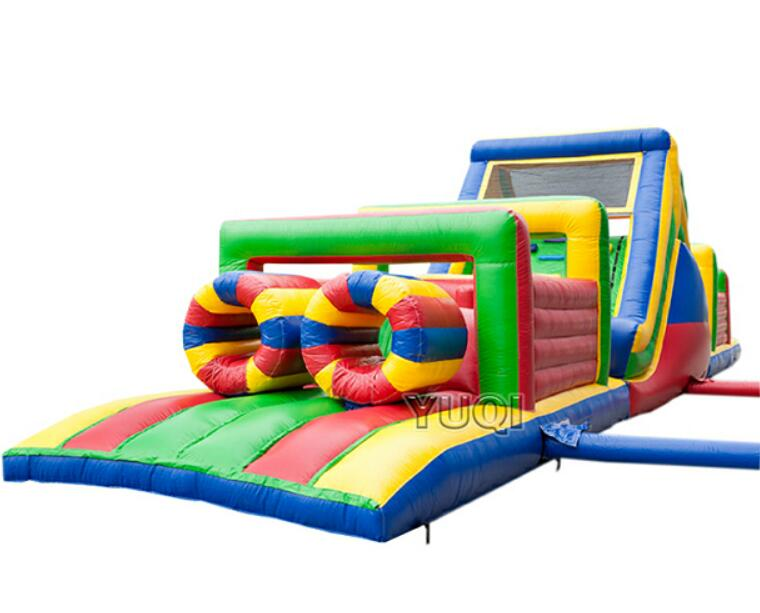 YUQI-Inflatable Air Track Manufacture | Inflatable Kids Arch Obstacle Course-13