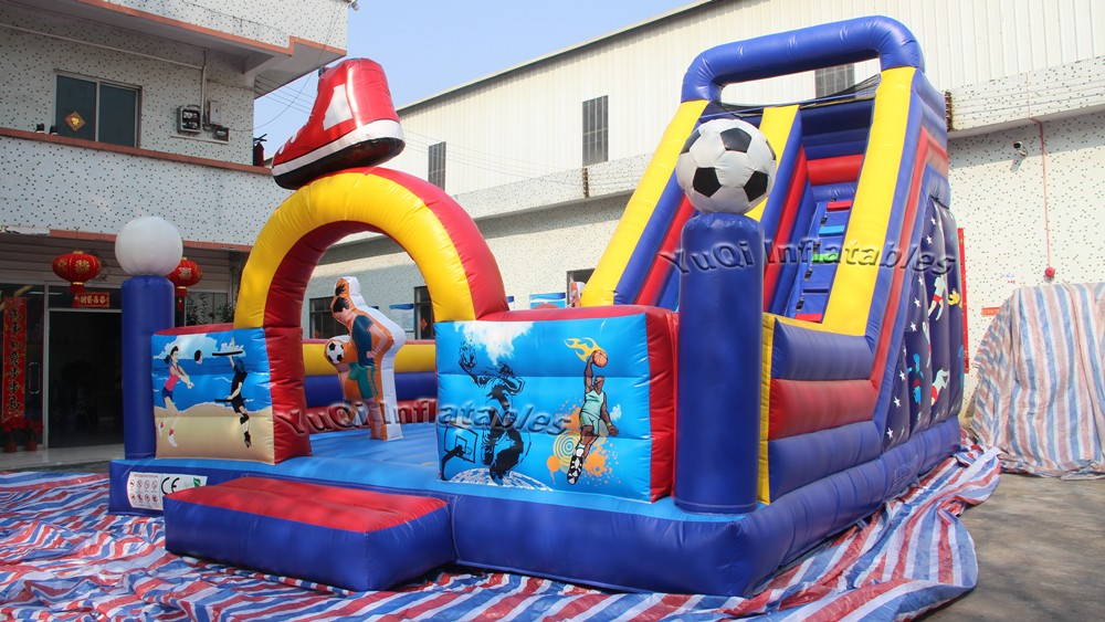 YUQI-Manufacturer Of Commercial Bounce House Slide Combo Inflatable