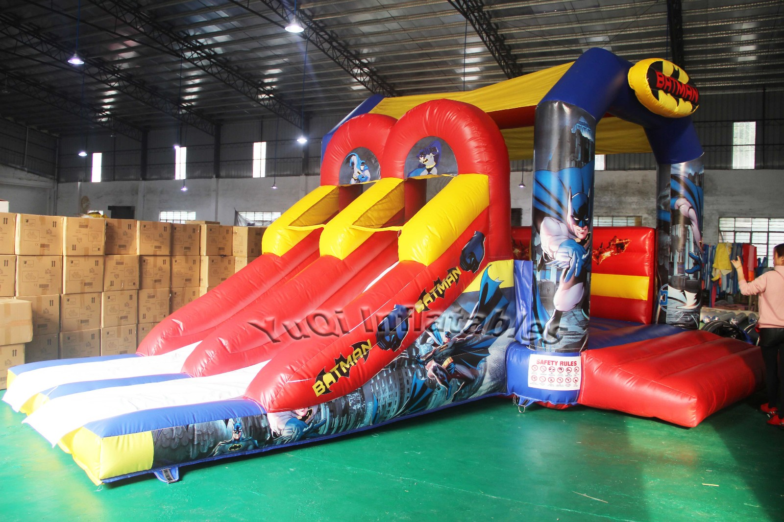 YUQI-Find Small Bounce House Factory Inflatable Bouncer Slide Combo