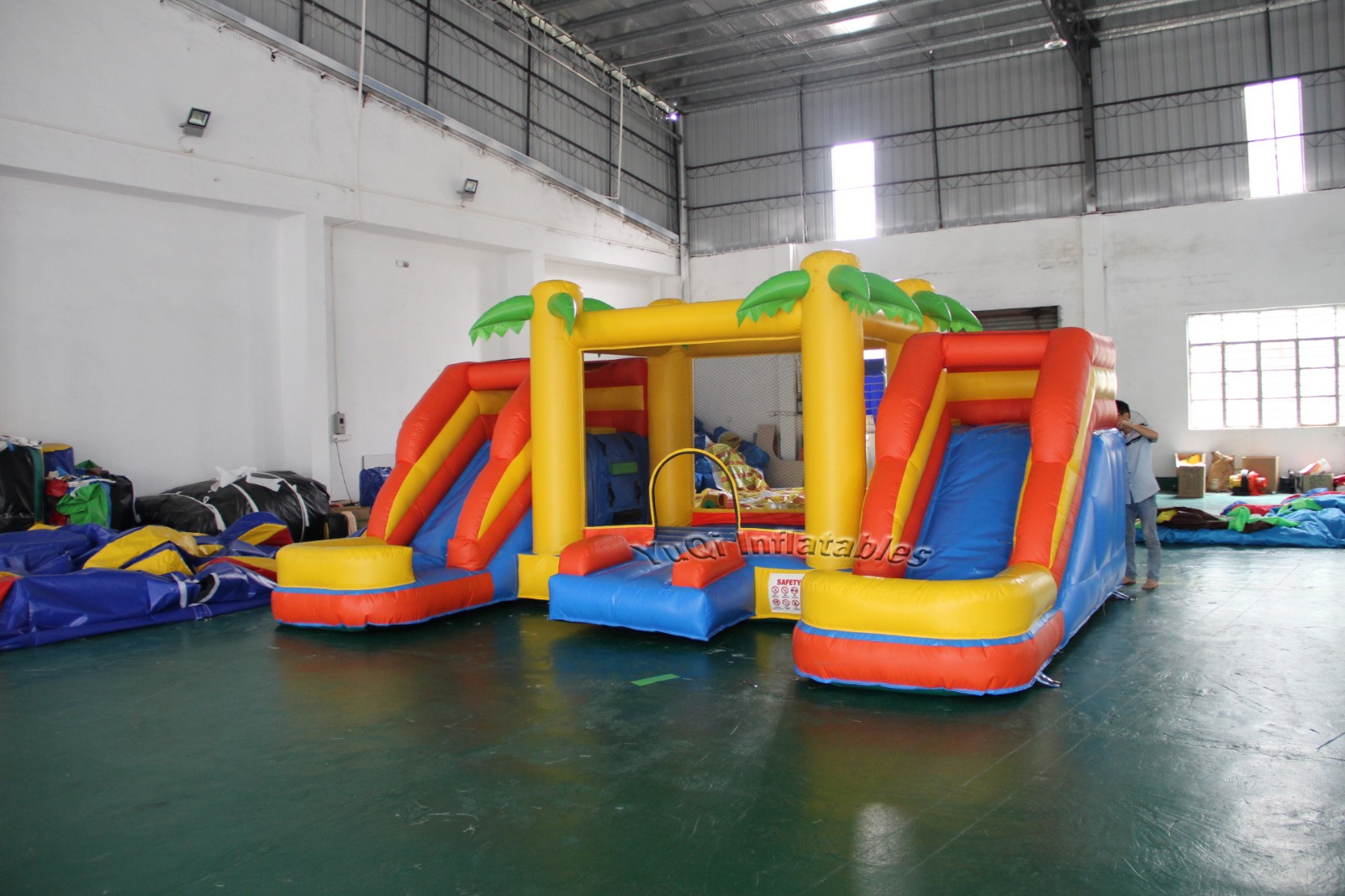YUQI-Bounce House Slide Combo For Sale | Yuqi High Quality Inflatable
