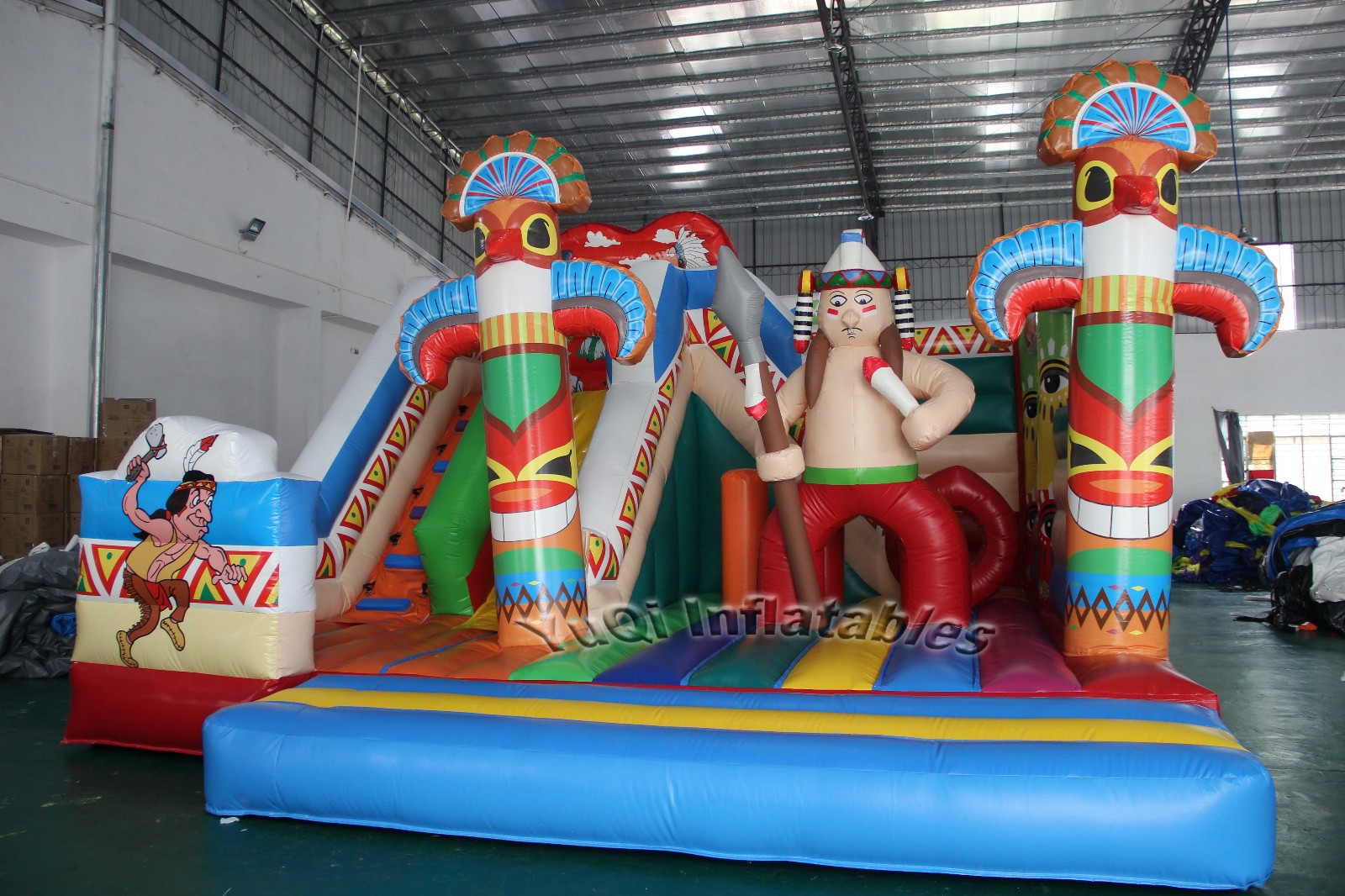 YUQI-Bounce House Combo Cheap Water Slide Bounce House For Sale