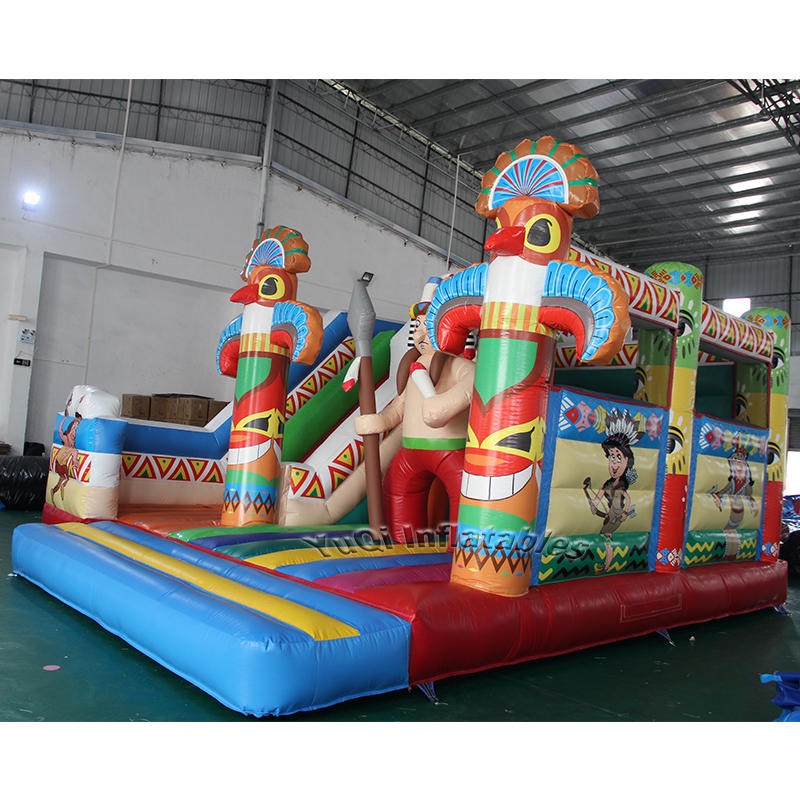 Hot sale inflatable jumping castle playing castle inflatable bouncer slide