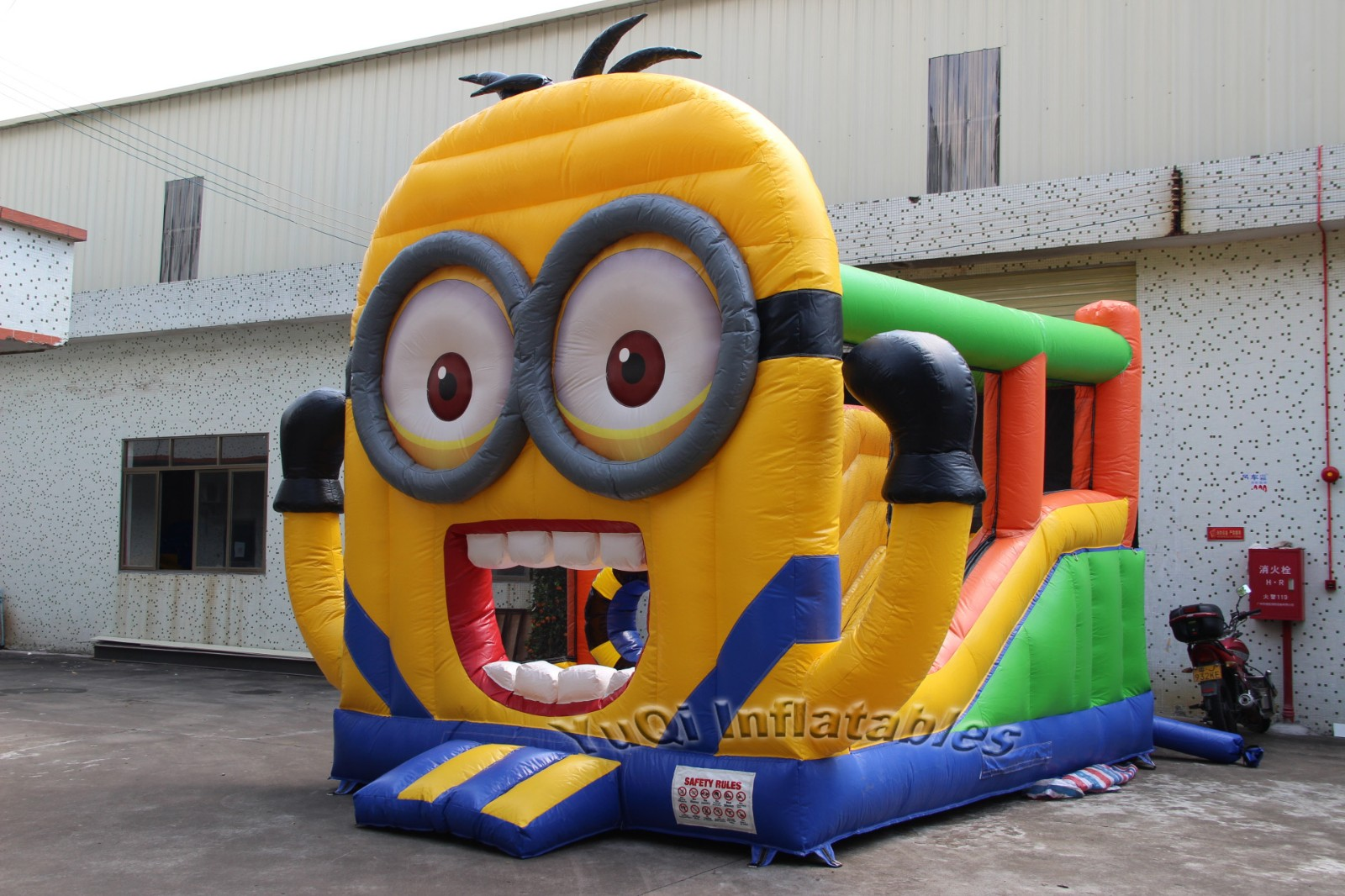 YUQI-Manufacturer Of Bounce House Waterslide Combo For China Factory