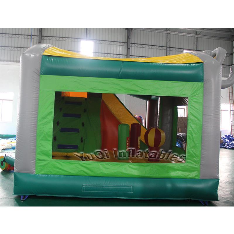 Elephant inflatable bouncy house inflatable bouncer slide combo