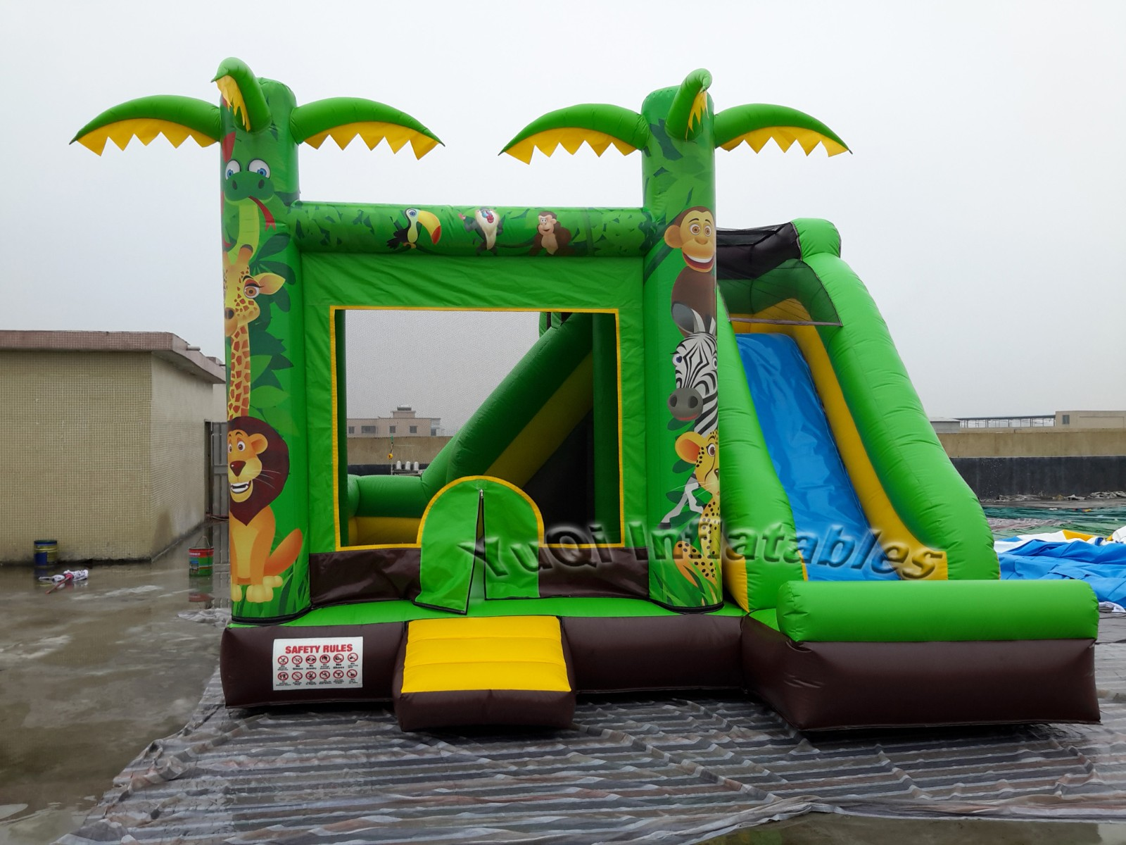 YUQI-Find Bounce House Slide Combo For Sale Cheap Water Slide Bounce