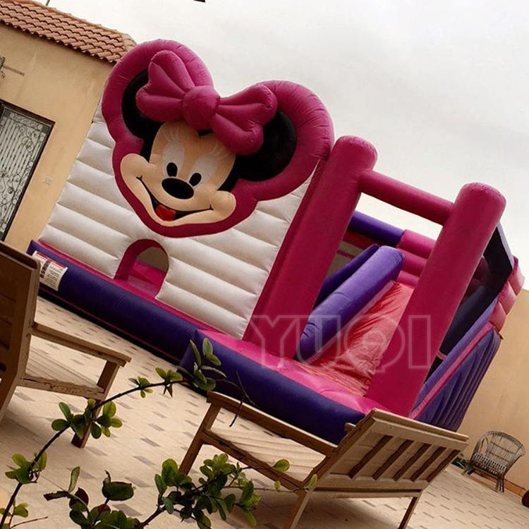 YUQI Mickey mouse inflatable bounce house for kids