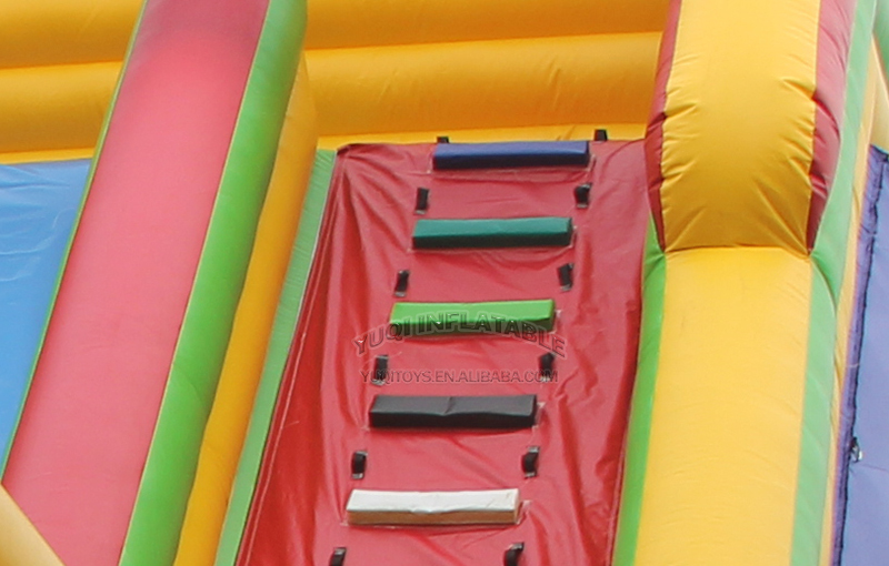 YUQI-Best Inflatable Assault Course Crazy Challenge Inflatable-5