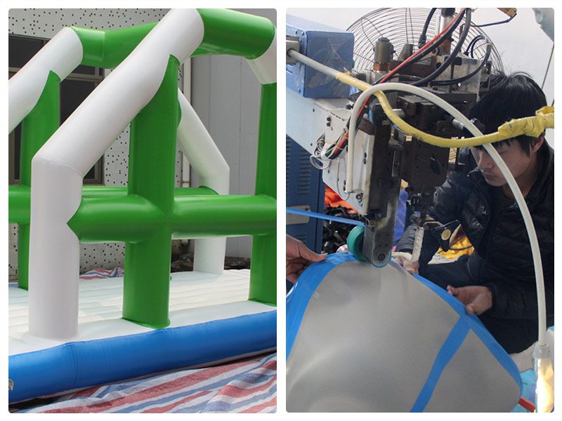 YUQI-Best Inflatable Assault Course Crazy Challenge Inflatable-7