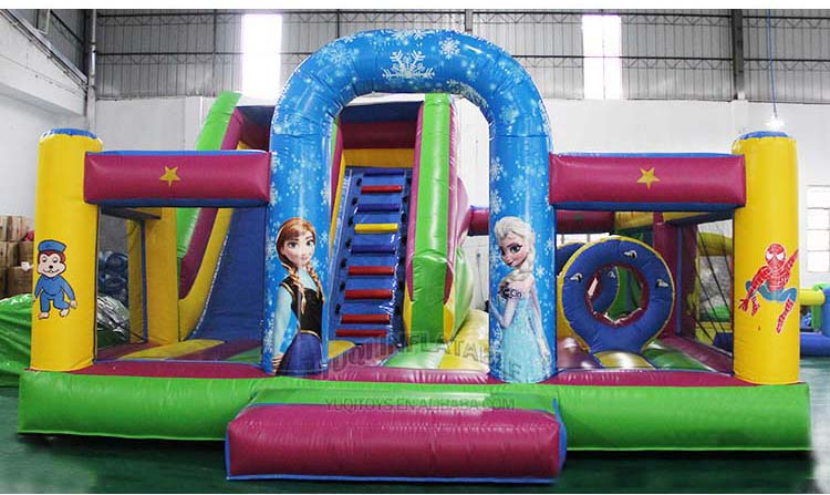 YUQI-Best Inflatable Assault Course Crazy Challenge Inflatable-13