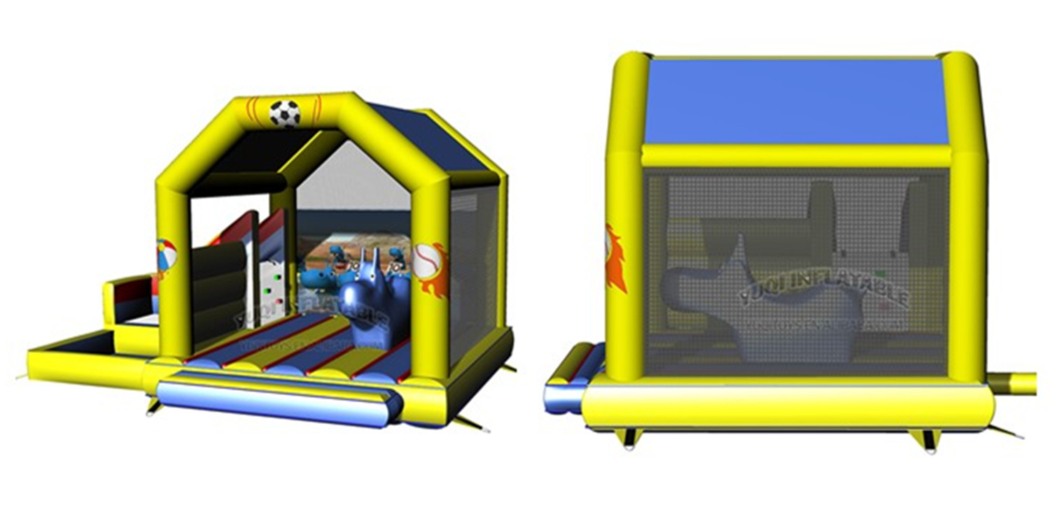 YUQI-Find Inflatable Air Track Inflatable Land Water Park From Yuqi Inflatables