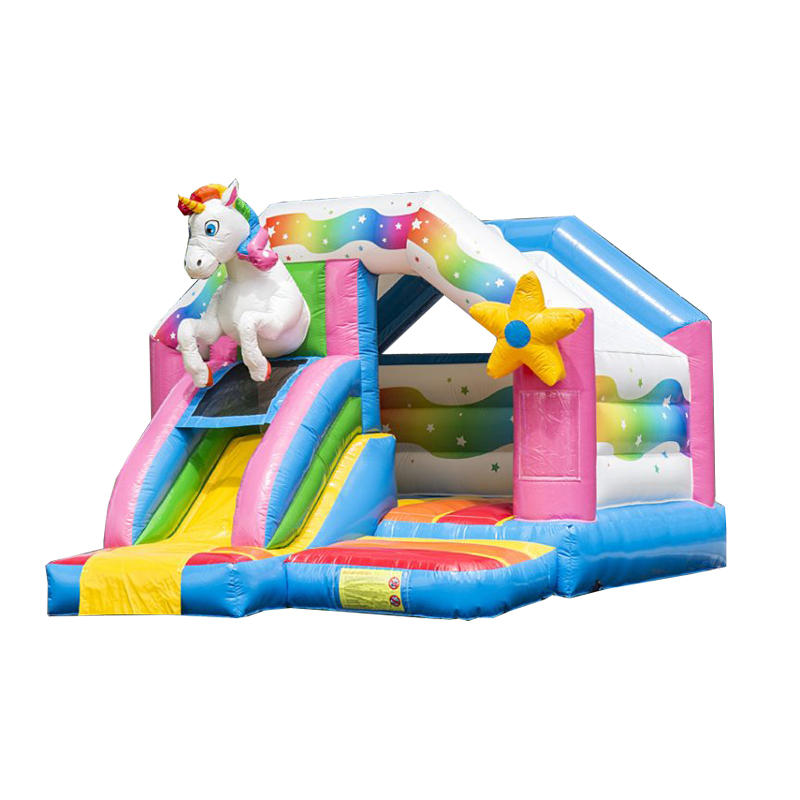 YUQI factory inflatable bouncer slide combo inflatable slide for sale