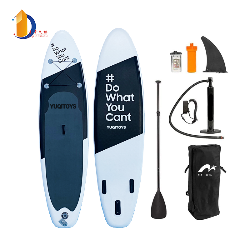 InflatableStandUpPaddleBoard(6inchesThick)withSUPAccessories&CarryBag|Wide,SurfControl,Non-Slip