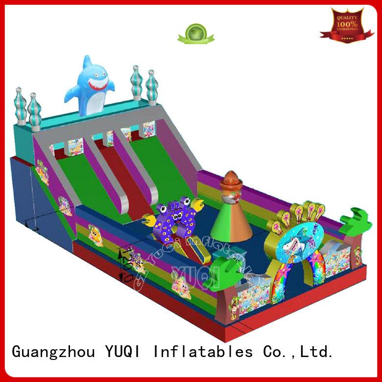 Wholesale animal dinosaur inflatable amusement park YUQI Brand