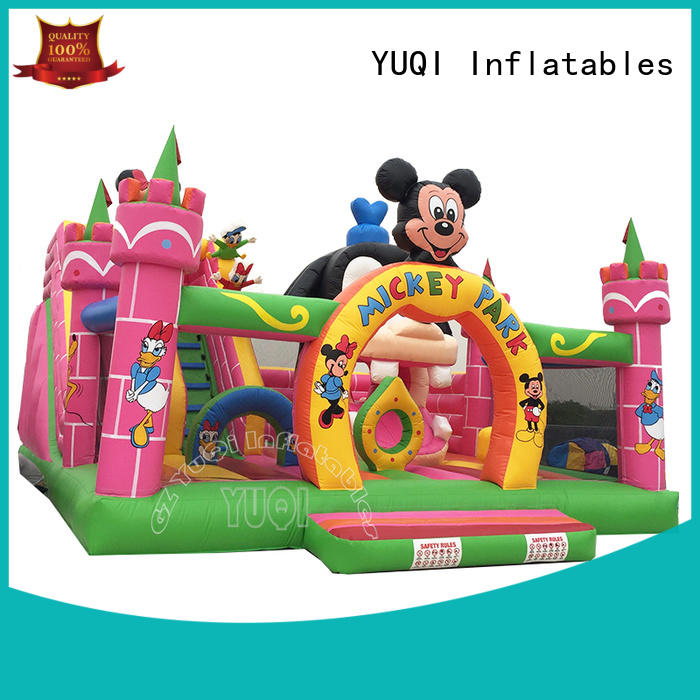 professional inflatable water trampoline kids manufacturer for festivals