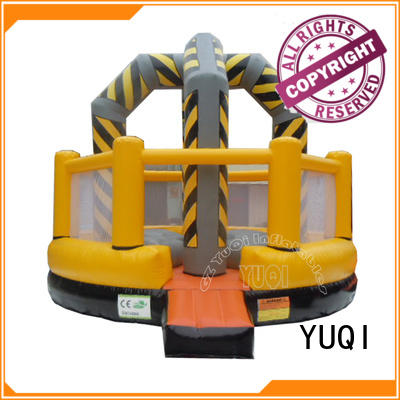 YUQI professional blow up football pitch supplier for kid