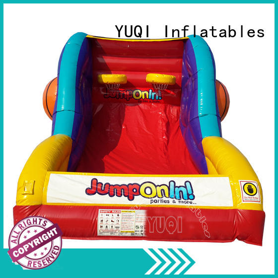 Wholesale inflatable sport games bed for business for carnivals