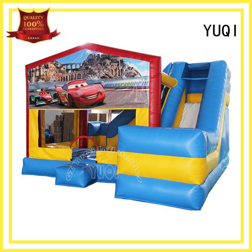 YUQI jumping carousel bounce house factory for festivals