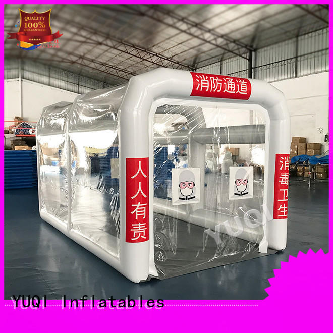 YUQI New second hand inflatable tents factory