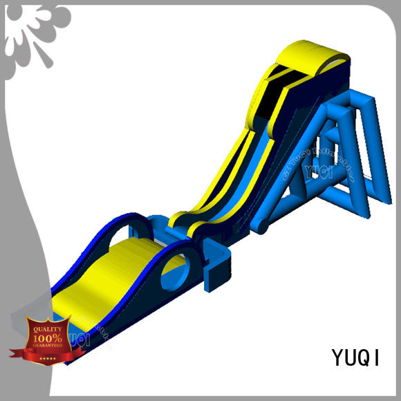 YUQI safety blow up slide rental manufacturers for park