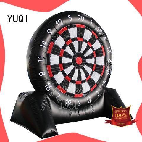 YUQI safety inflatable football game Suppliers for kid