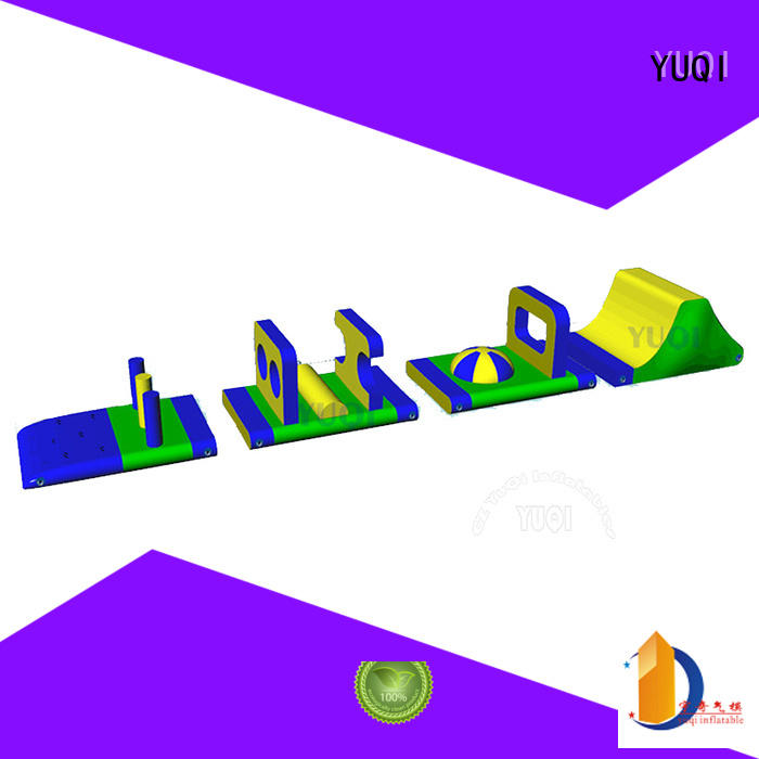 Custom water park obstacle course water supplier for adult