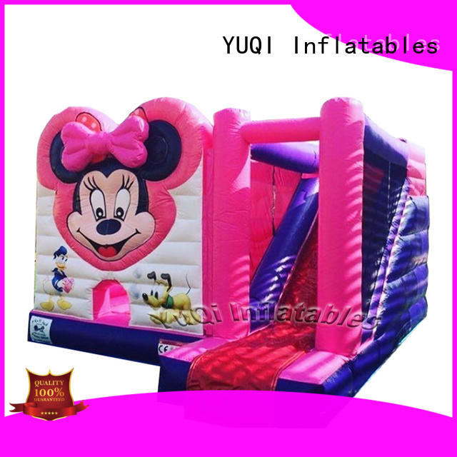 Wholesale big water slide duck customization for carnivals
