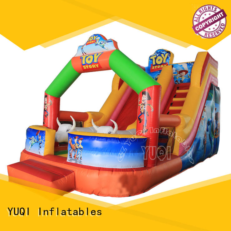 YUQI durable best inflatable bounce house company for carnivals