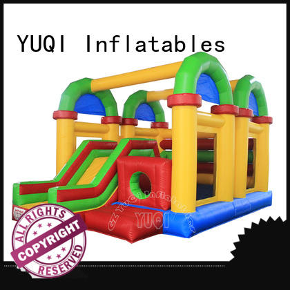 YUQI Wholesale inflatable course manufacturer for birthday parties