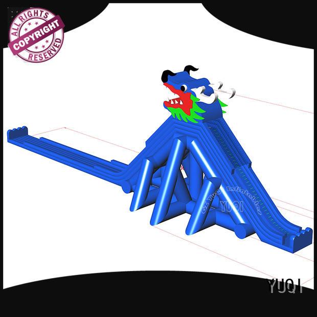 YUQI New bounce house slide combo wholesale for park