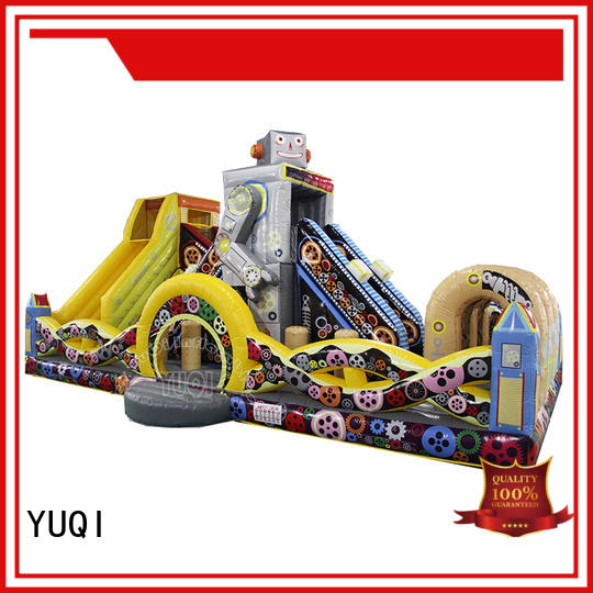 YUQI Best Inflatable Fun Park factory for birthday parties