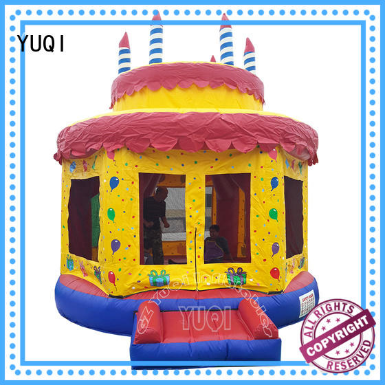 YUQI unicorn moon jump factory for adult