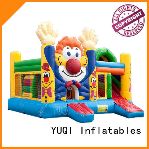 YUQI forest adult inflatables for business for schools
