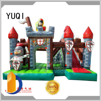 Hot dinosaur water slide bounce house for adults tiger YUQI Brand