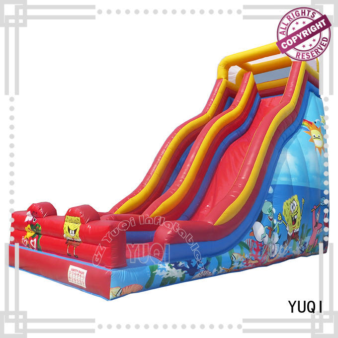 YUQI waterslide bounce home company for park
