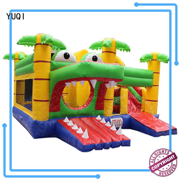 YUQI mini alligator water slide wholesale for carnivals