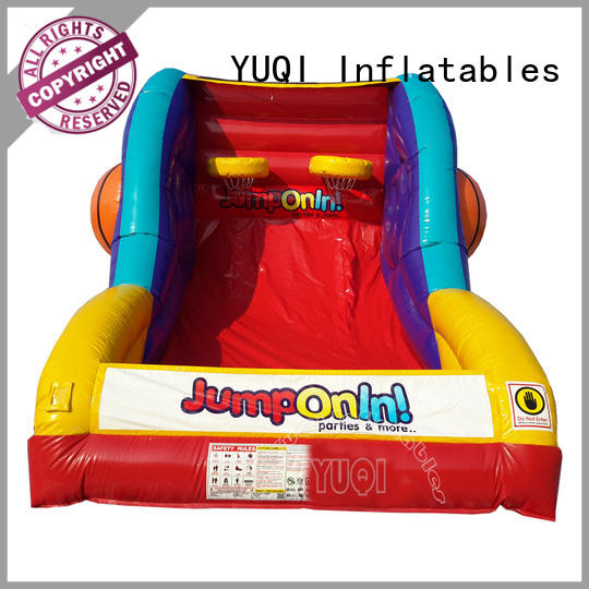 YUQI bull inflatable soccer game factory for adult