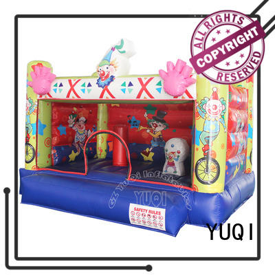 YUQI high quality moon bounce rental factory for park