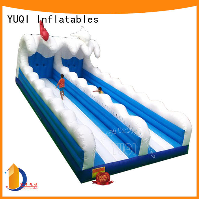 inflatable games for adults kids basketball Inflatable sport games YUQI Brand