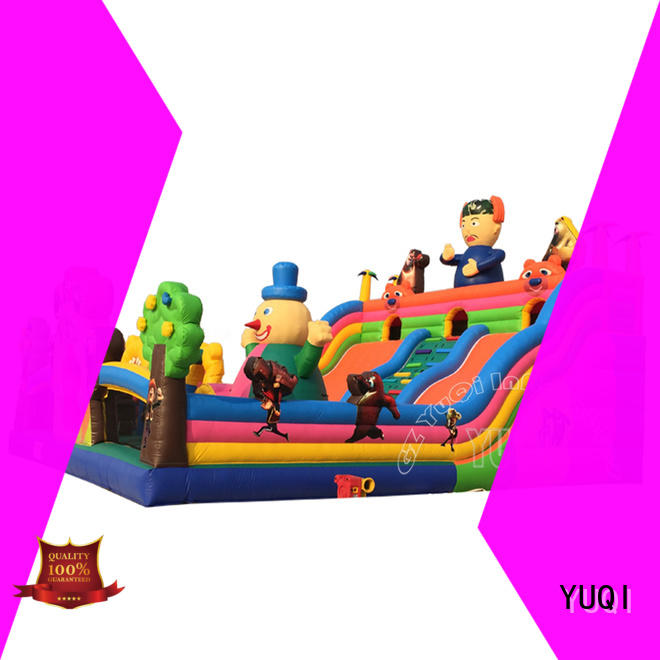 YUQI funny giant inflatable amusement park customization for adult