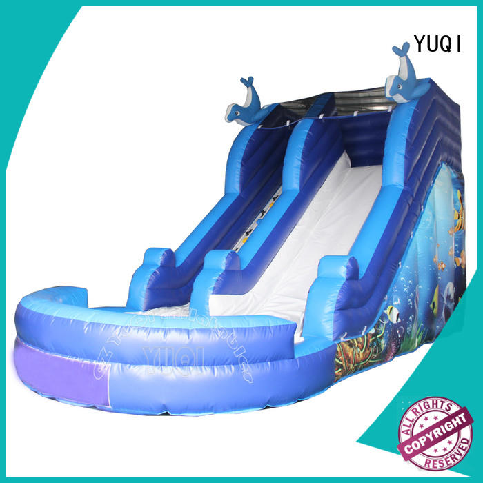 YUQI New bounce house slide combo manufacturerSupply for carnivals