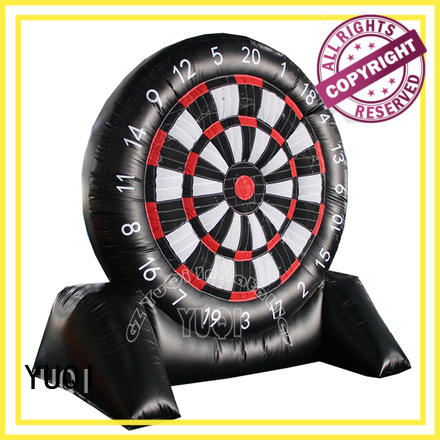 YUQI safety inflatable football game customization for park