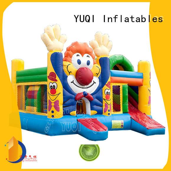 water slide bounce house for adults cartoon sale YUQI Brand company