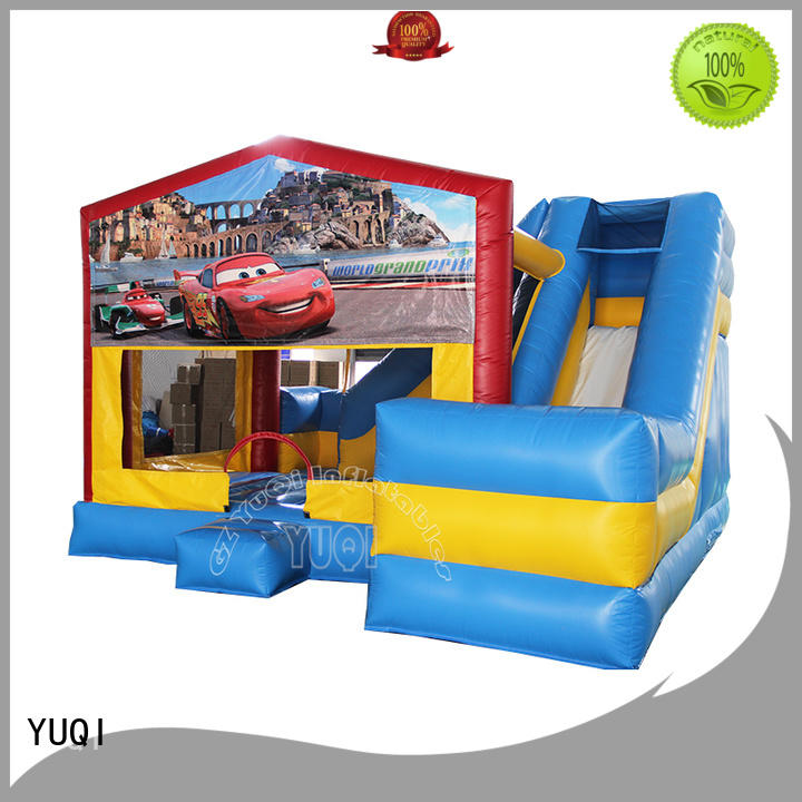 water slide bounce house for adults animal bounce house waterslide combo for sale YUQI Brand