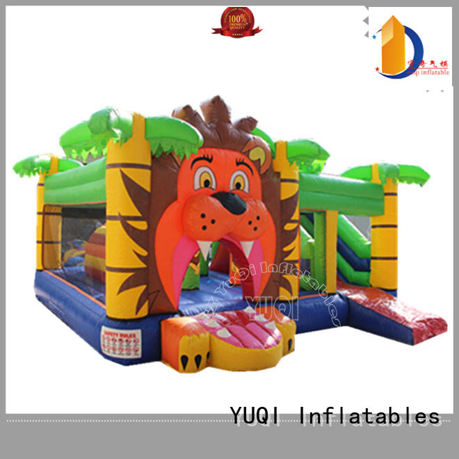 Wholesale mini water slide bounce house for adults YUQI Brand