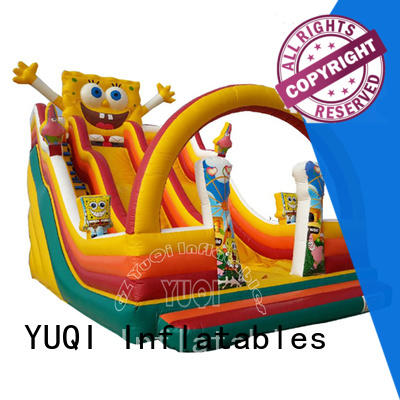 YUQI slide inflatable waterslides manufacturers for birthday parties