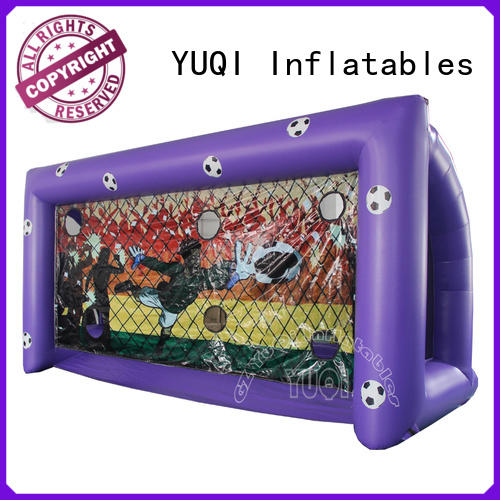 YUQI soccer bubble soccer equipment wholesale for park