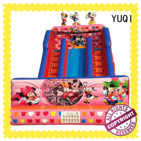YUQI safety inflatable slides for sale supplier for carnivals