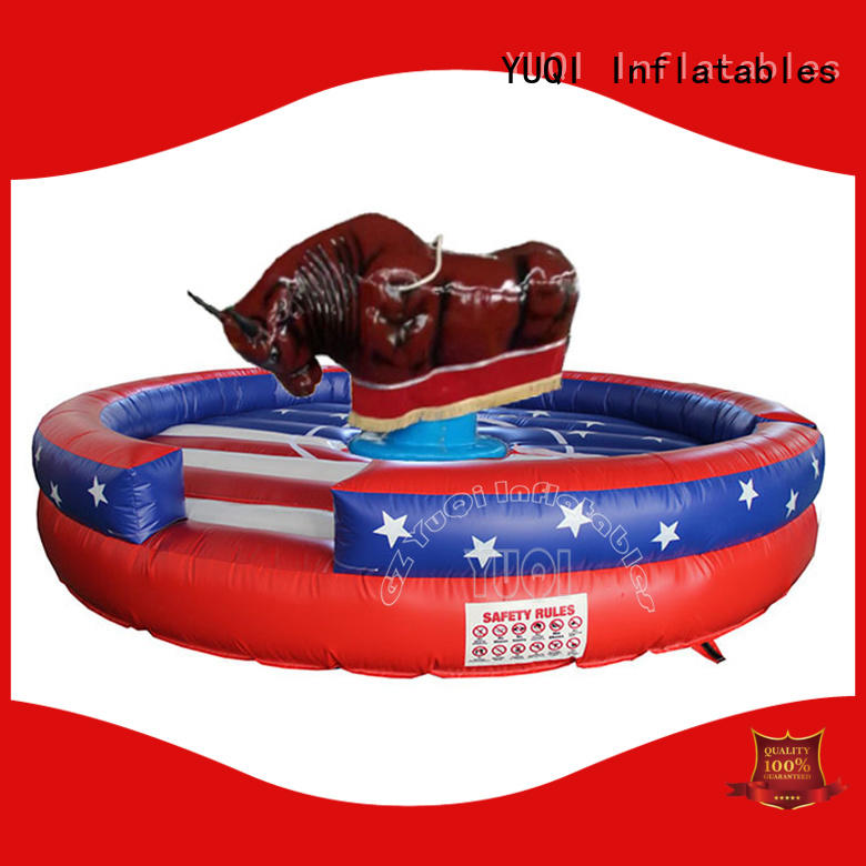 YUQI tape Inflatable sport games factory for birthday parties